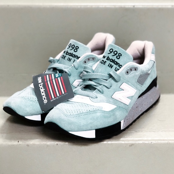 9e53017ab New Balance 998 Custom Cotton Candy Suede Sneakers